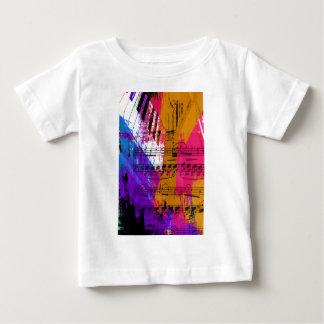 music, piano decor (12) baby T-Shirt