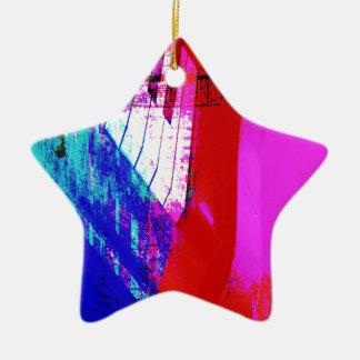 music, piano decor (13) ceramic star decoration