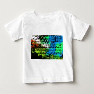 music, piano decor (14) baby T-Shirt