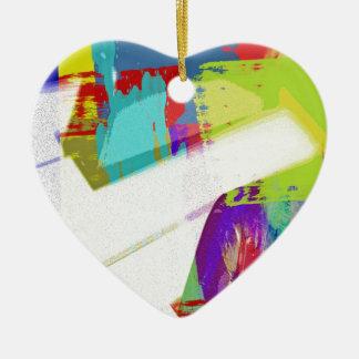 music, piano decor (18) ceramic heart decoration