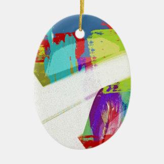music, piano decor (18) ceramic oval decoration