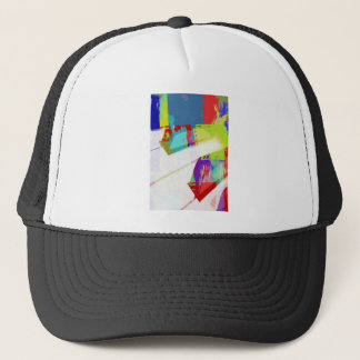 music, piano decor (18) trucker hat