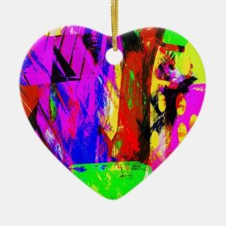 music, piano decor (19) ceramic heart decoration