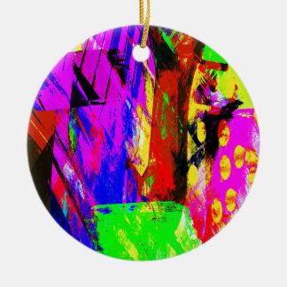 music, piano decor (19) round ceramic decoration