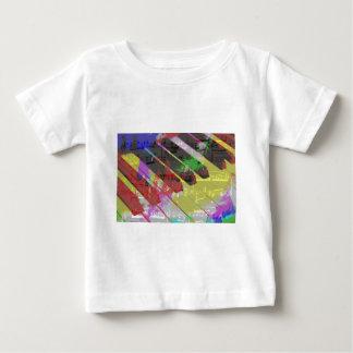 music, piano decor (1) baby T-Shirt