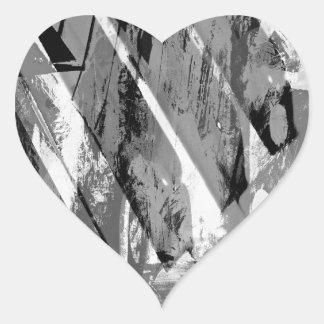 music, piano decor (20) heart stickers