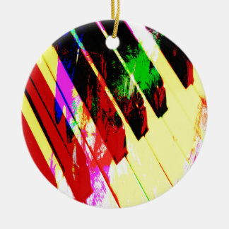 music, piano decor (21) christmas ornament