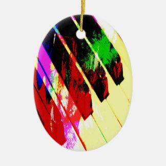 music, piano decor (21) christmas ornament