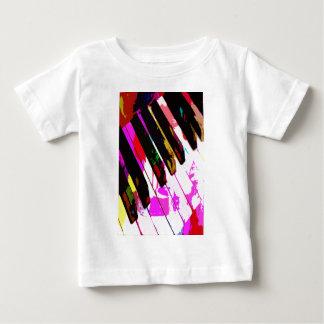 music, piano decor (23) baby T-Shirt