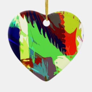 music, piano decor (24) ceramic heart decoration
