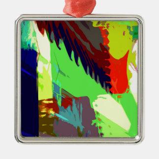 music, piano decor (24) Silver-Colored square decoration