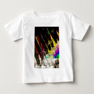 music, piano decor (4) baby T-Shirt