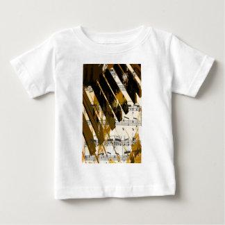 music, piano decor (5).jpg baby T-Shirt
