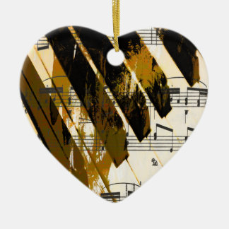 music, piano decor (5).jpg ceramic heart decoration