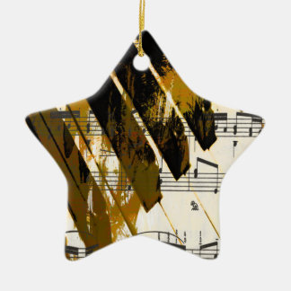 music, piano decor (5).jpg ceramic star decoration