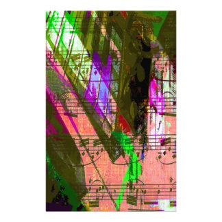 music, piano decor (8) stationery design