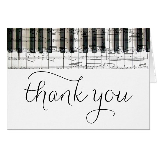 music piano keyboard notes thank you
