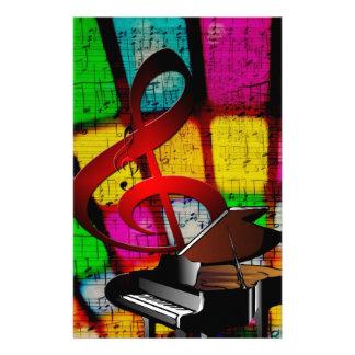 Music Piano Keys Notes Teacher Destiny Instruments Stationery