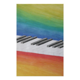 Music Piano Keys Notes Teacher Destiny Instruments Custom Stationery