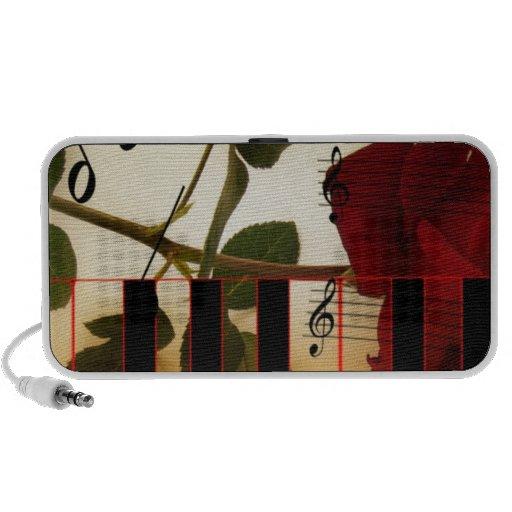 Music Piano Keys Notes Teacher Roses Instruments Travel Speakers
