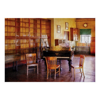 Music - Piano - Ready for Piano Lessons Posters