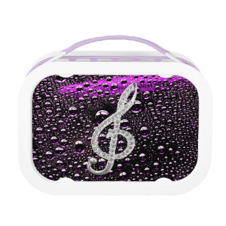 Music Piano symbol Lunch Box