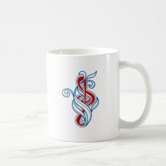 Music picker coffee mug