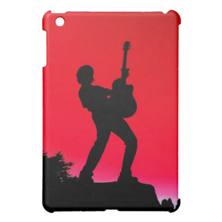 Music Playing Boy Lovers of Music iPad Mini Covers