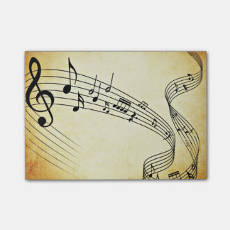 Music Post-it Notes