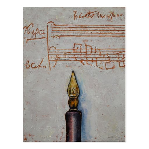 Music Post Card