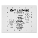 """Music Poster """"Why I Like Music"""""""
