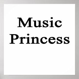 Music Princess Poster