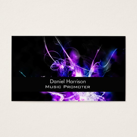 Music Promoter Business card