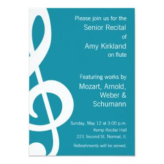 Music Recital Card