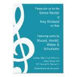 Music Recital Custom Invitation