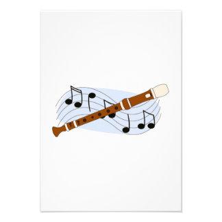 Music Recorder Instrument Custom Announcements
