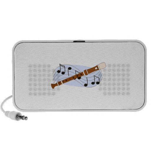Music Recorder Instrument Speakers