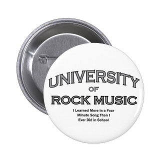MUSIC-ROCK MUSIC 6 CM ROUND BADGE
