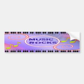 Music Rocks! Bumper Sticker