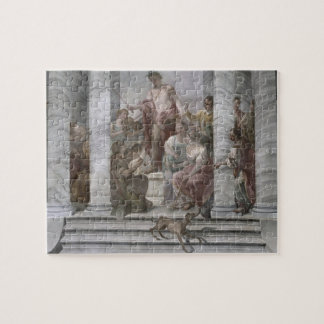 Music Room (fresco) (and detail 60260) Jigsaw Puzzle