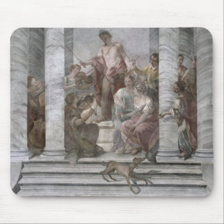 Music Room fresco and detail 60260 Mouse Pads