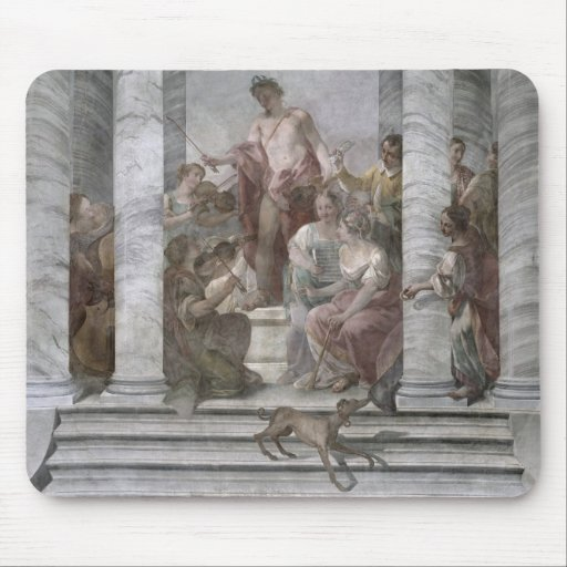 Music Room (fresco) (and detail 60260) Mouse Pads