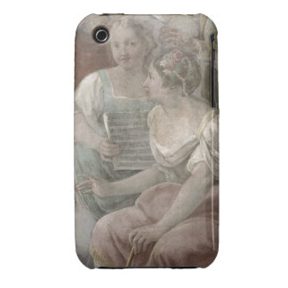 Music Room (fresco) (detail of 60259) Case-Mate iPhone 3 Cases