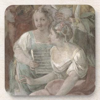 Music Room (fresco) (detail of 60259) Coaster