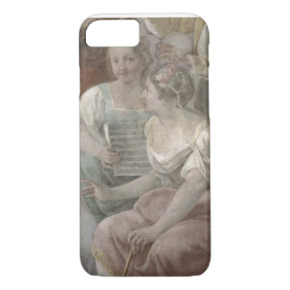 Music Room (fresco) (detail of 60259) iPhone 8/7 Case