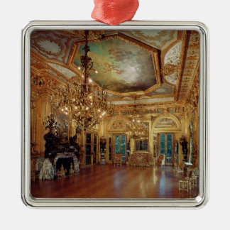 Music room interior christmas ornament