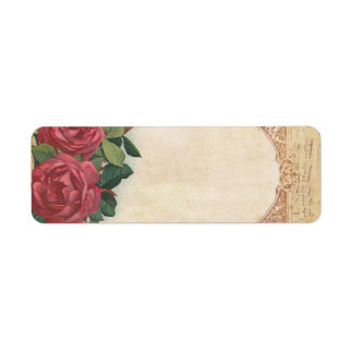 Music & roses labels