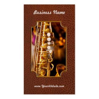 Music - Sax - Sweet jazz Business Card