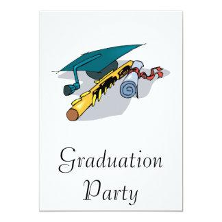 Music School Graduate 13 Cm X 18 Cm Invitation Card