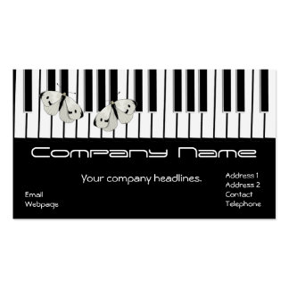 Music Service/Product Business card 2016 Calendar